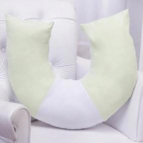 Almofada Amamentação Menino Verde Luxo Grão de Gente Verde