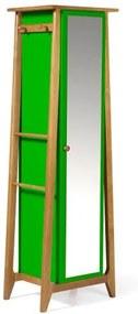 Armario Multiuso Stoka Cor Amendoa Com Verde - 31603 Sun House