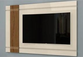 Rack Bancada com Painel para TV Orion Off White/Carvalho Munique - Belaflex
