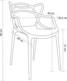 Cadeira Allegra Infantil Branca Rivatti Móveis