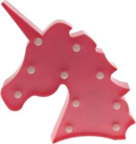 Unicórnio LED rosa