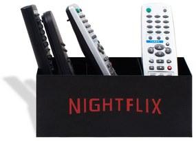 Porta Controle Remoto Nightflix Preto