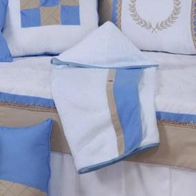 Toalha de Banho com Capuz Realeza Azul