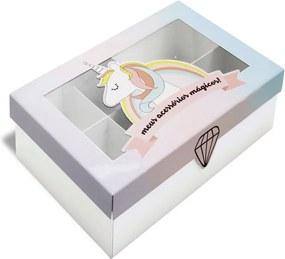 Caixa Organizadora Para Acessórios - Unicórnio - Geguton