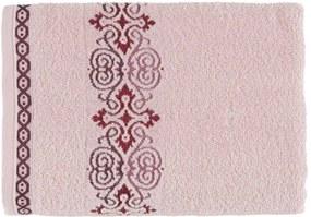 Toalha Karsten Softmax Elara - Cor: Branco/Cinza - Tamanho: Banho 70 X 135 cm - Karsten