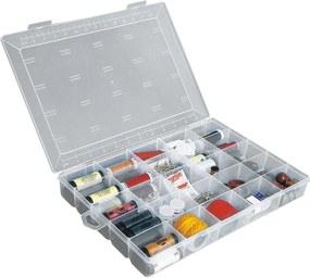 Caixa Organizadora Multiuso de Plástico com Divisórias