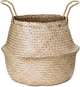Cesto Em Seagrass Palha - 35cm