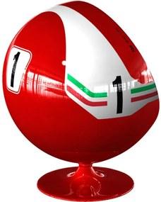 Poltrona Ball Giratória Ferrari 312 T2 By Niki Lauda 1976