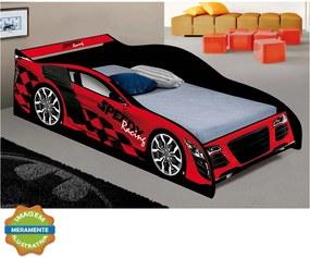 Cama Carro Speedy Vermelha J & A