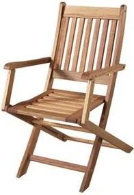 Cadeira Dobravel Com Braco Cor Stain Jatoba - 15555 Sun House
