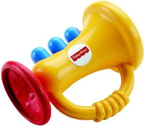 Chocalho Musical - Instrumentos Divertidos - Bongo - Fisher-Price