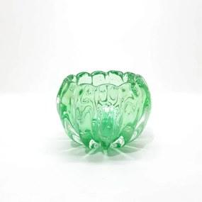 Cachepot em Cristal de Murano Liceu - Cor New Jade