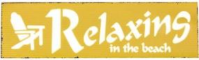 Placa Decorativa Relaxing
