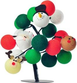 Árvore de Luz Natal Merry Mix com 20 Bolinhas - Bivolt