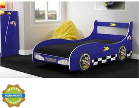 Cama Rally Azul Gelius