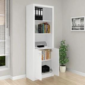 Armário para Escritório Alto 2 Portas Me4110 Branco - Tecno Mobili