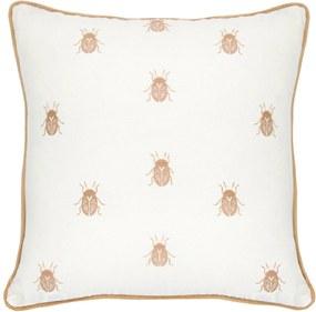 Almofada Lola Home Bugs 0104 Off White
