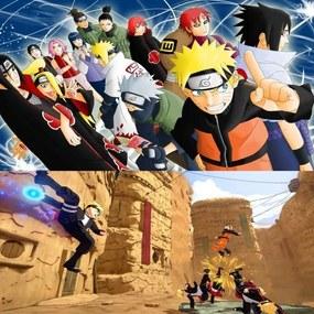 Papel De Parede Adesivo Naruto (0,58m x 2,50m)