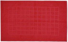 Toalha de Piso Royal II - Vermelho Cereja - Döhler