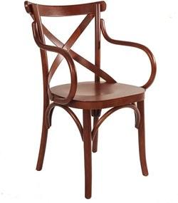 Cadeira Espanha com Braço - Wood Prime TT 13018
