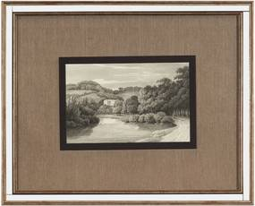 Quadro Decorativo Antique Print III