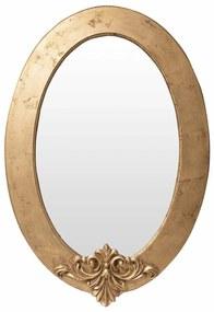 Espelho Lavanda Oval - Dourado Envelhecido Provençal Kleiner Schein