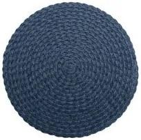 Jogo Americano Polipropileno Bom Gourmet Leaf Azul Marrom 38cm