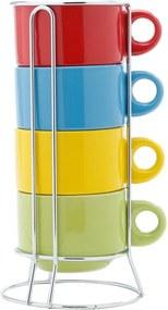 Jogo de Xícaras para Chá Porcelana Color