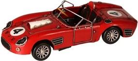 Miniatura Carro de Corrida Decorativo de Metal Little Red