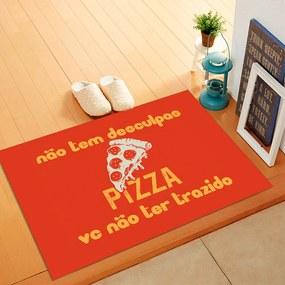 Tapete de Porta, Pizza - 40x60cm