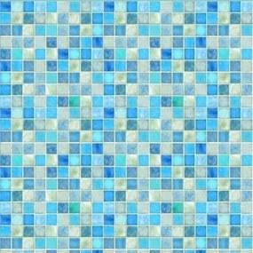 Pastilhas Adesivas Tons De Azuis (0,60m x 2,50m)