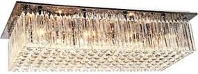 Plafon Sobrepor Metal Cristal