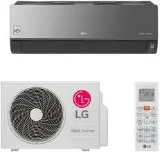 Ar Condicionado Split HW LG Dual Inverter Artcool 22.000 BTUs Quente/Frio 220V