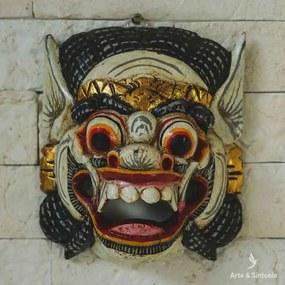 Máscara Barong em Madeira Bali