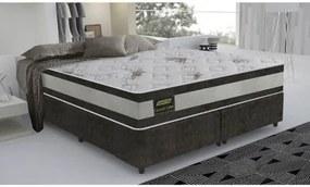 Cama Box King Size Good Like Molas Ensacadas e Euro Top Duplo - Firme - Gazin - 193x203x73