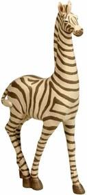 Escultura Decorativa de Resina Zebra Savah Grande