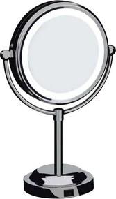 Espelho de Aumento Dupla Face com Iluminação