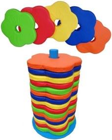 Almofada Flor com Suporte Brink Sul 15 unidades Multicolorido