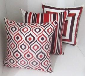 3 Capas Almofadas SOFT Clássico Vermelho