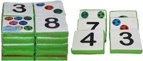 Jogo da Memória Gigante Brink Sul Números e Quantidades Multicolorido