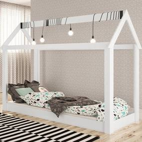 Cama Infantil Montessoriana By 400 Branco - Completa Móveis