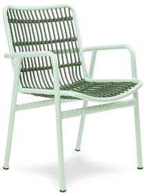 Cadeira Sami Área Externa Fibra Sintética Estrutura Alumínio Eco Friendly Design Scaburi