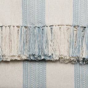 Manta para Sofá Romantic Faixas de 1,40 x 2,00 m Azul Romantico
