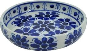 Petisqueira em Porcelana Azul Colonial 16 cm