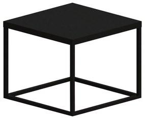 Mesa de Centro Kubo Pequena Preto - Wood Prime TS 34191