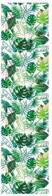 Papel De Parede Adesivo Plantas Exóticas Tropicais (0,58m x 2,50m)
