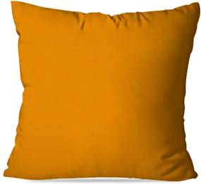 Almofada Avulsa Decorativa Lisa Laranja 45X45cm Love Decor