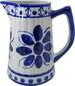 Jarra de Porcelana Azul Colonial 870 ml