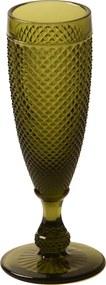 Taça Champagne Bico de Jaca Oliva