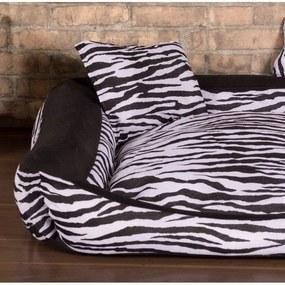 Cama Pet Pequena Deccoralle - Zebra Preta